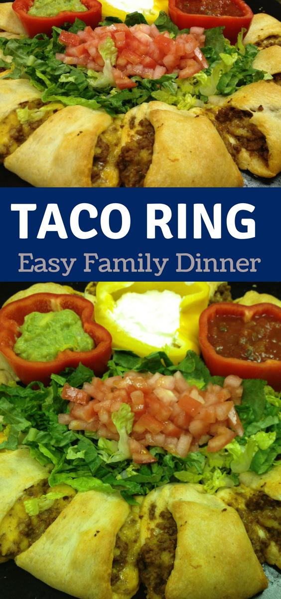 Easy Taco Ring Recipe