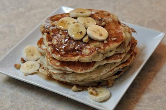 banana nut pancake recipe