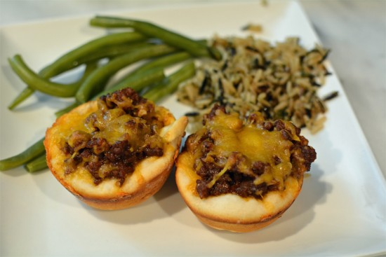 BBQ Beef Biscuit Cups