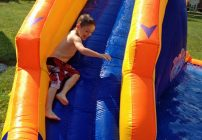 Blast Zone: Twist N Spout Inflatable Water Park Review