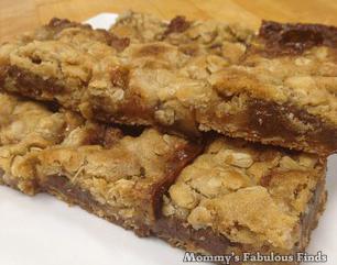 Oatmeal Carmelita | Cookie Bars | Recipe