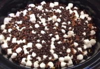 Crock Pot Rocky Road Chocolate Cake