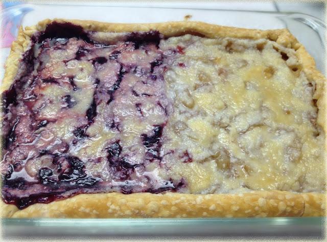 Cherry and Apple Slab Pie Recipe