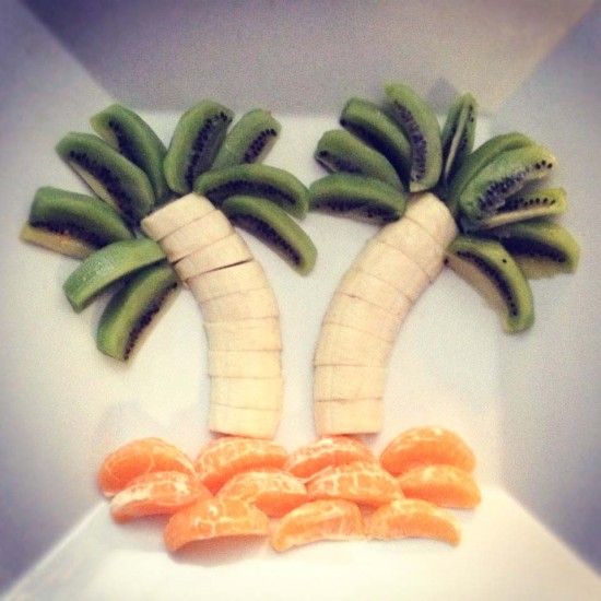 Fruit Palm Tree healthy snack