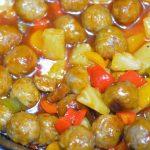 crock-pot sweet sour meatballs