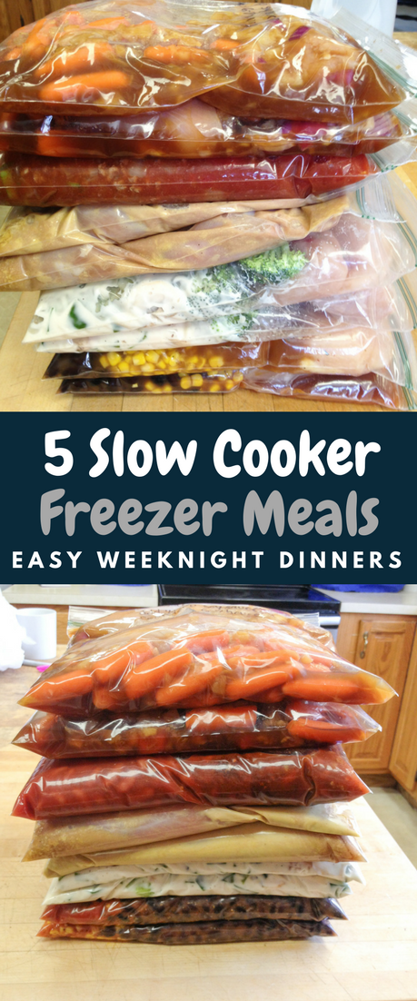 slowcooker freezer meals