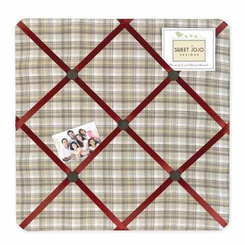 All Star Fabric Memory Memo Photo Bulletin Board
