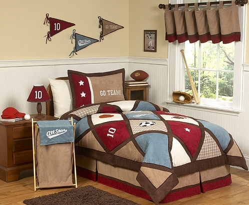 All Star Sports Childrens Bedding