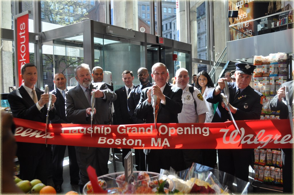 Walgreens Boston Flagship Ribbon Cutting