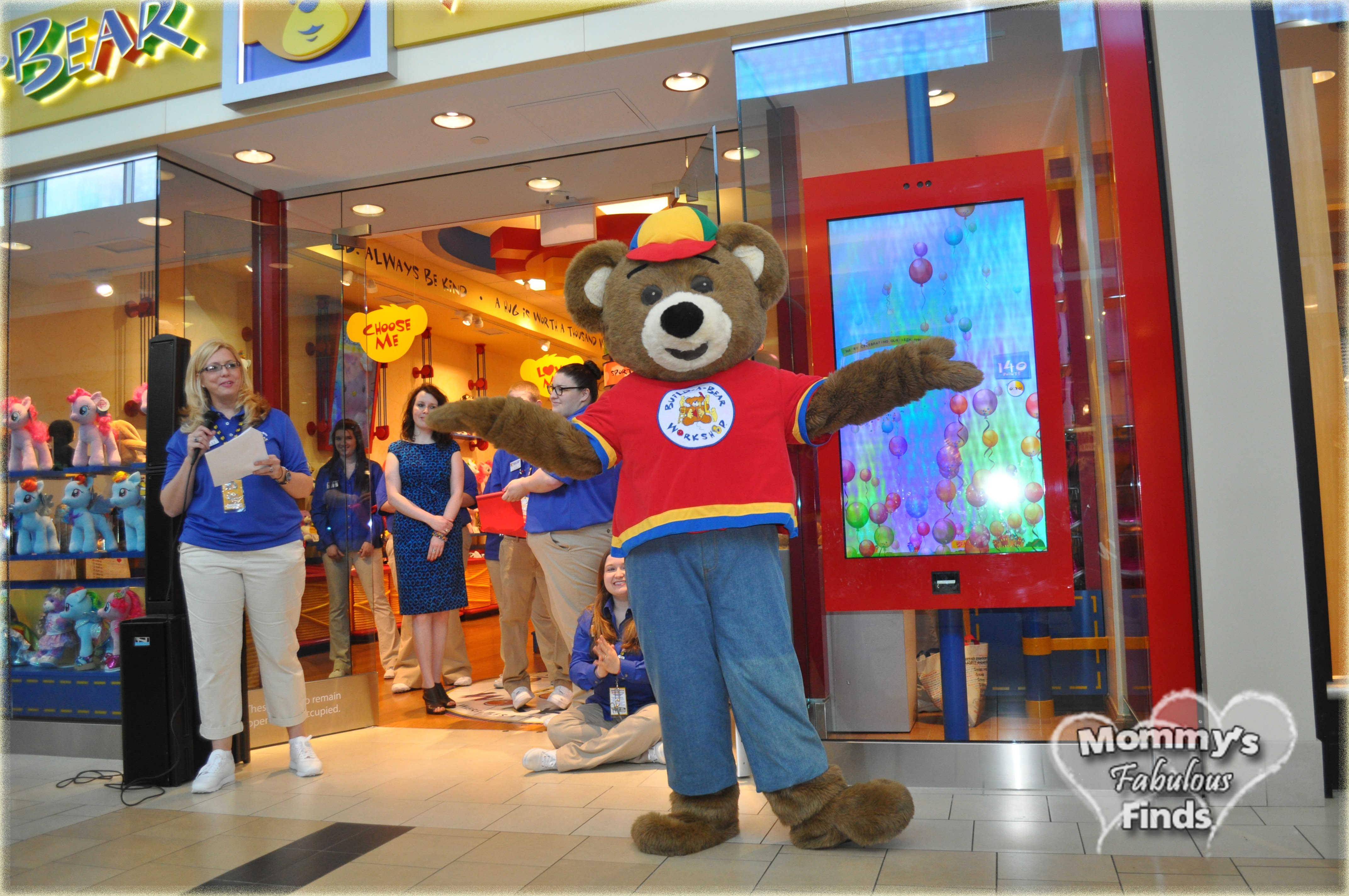 build a bear workshop grand opening northshore mommy s fabulous finds