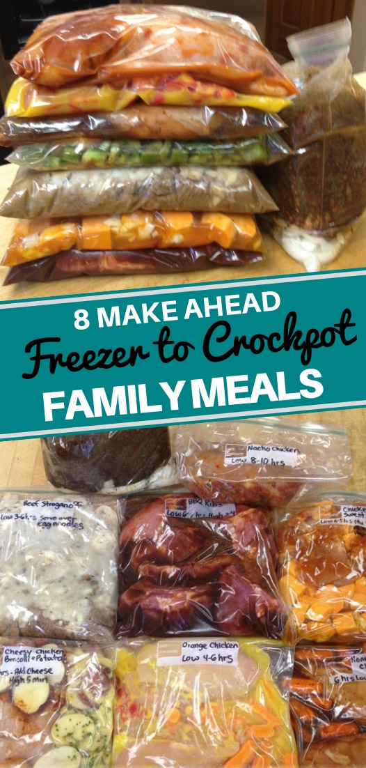 8 Freezer To Crockpot Recipes