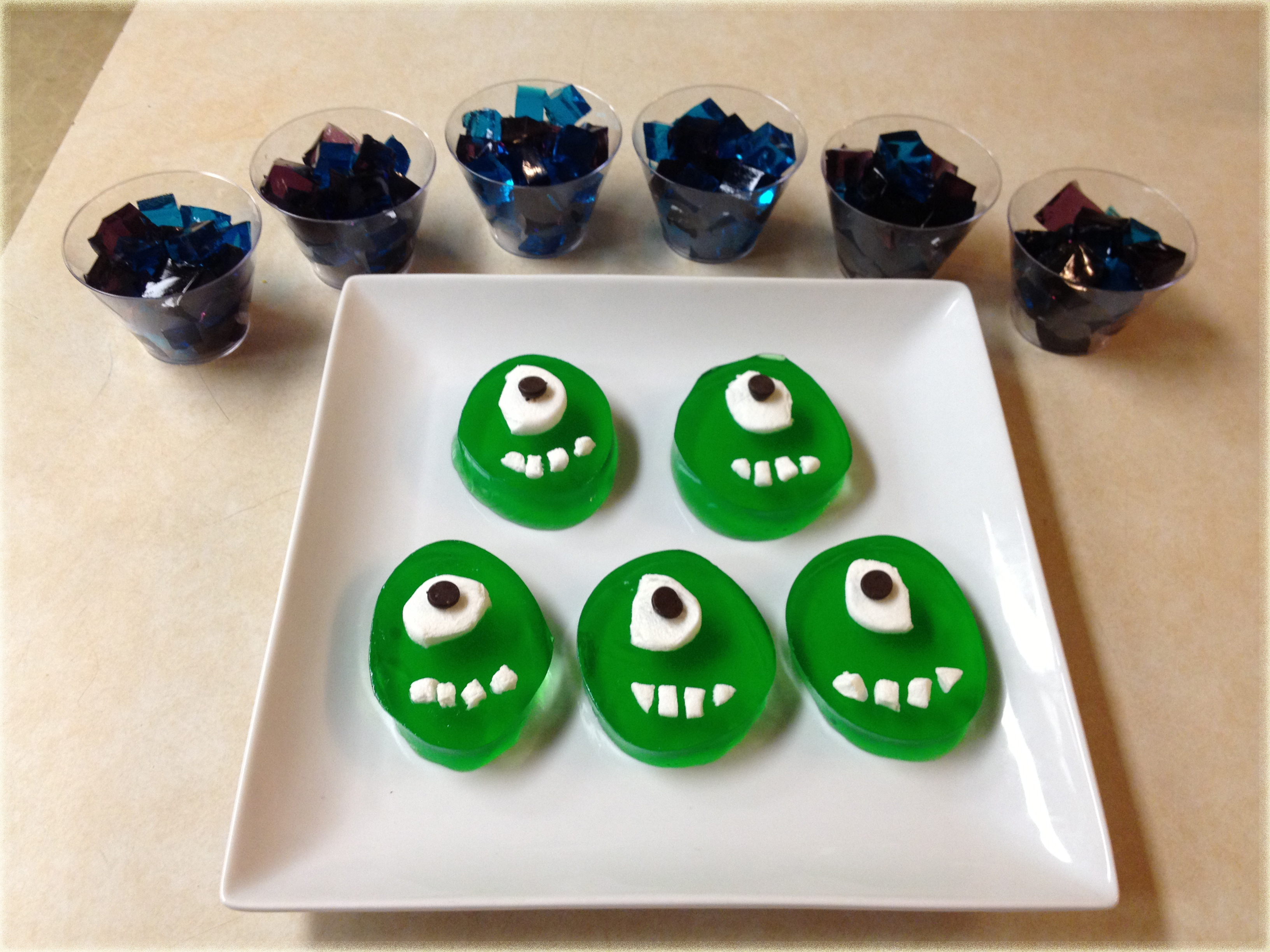 monsters university jello jigglers