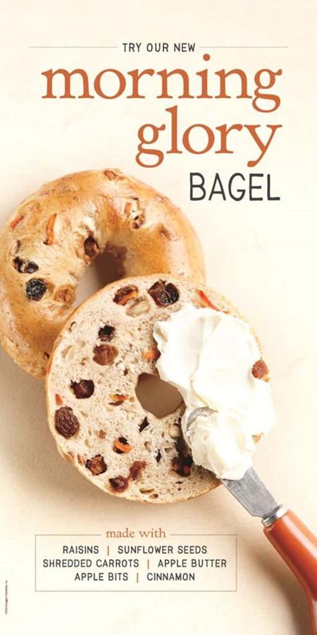 morning glory bagel