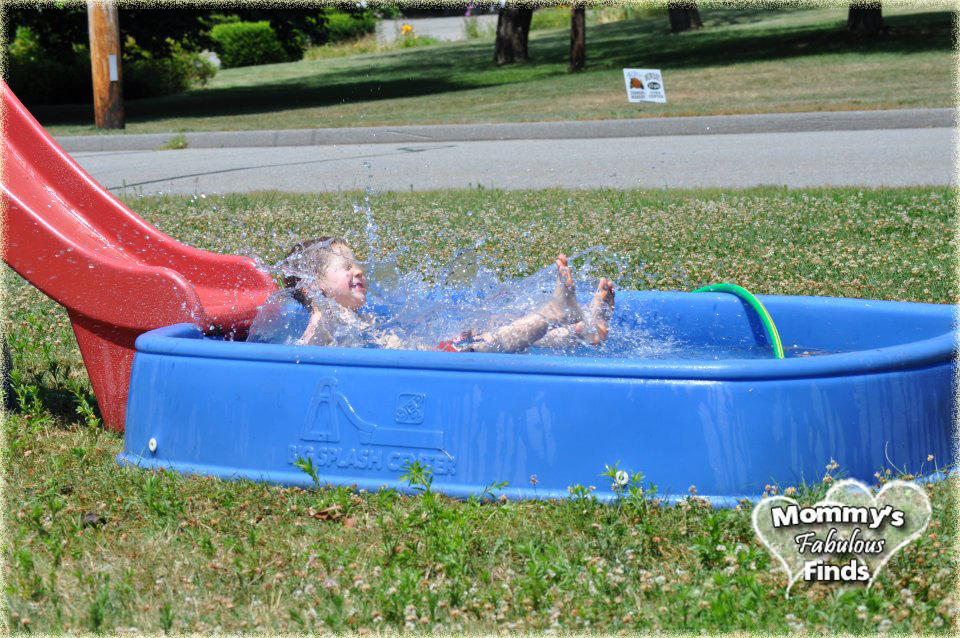 Step 2 pool with slide a summer favorite mommy 39 s for Pool plastik