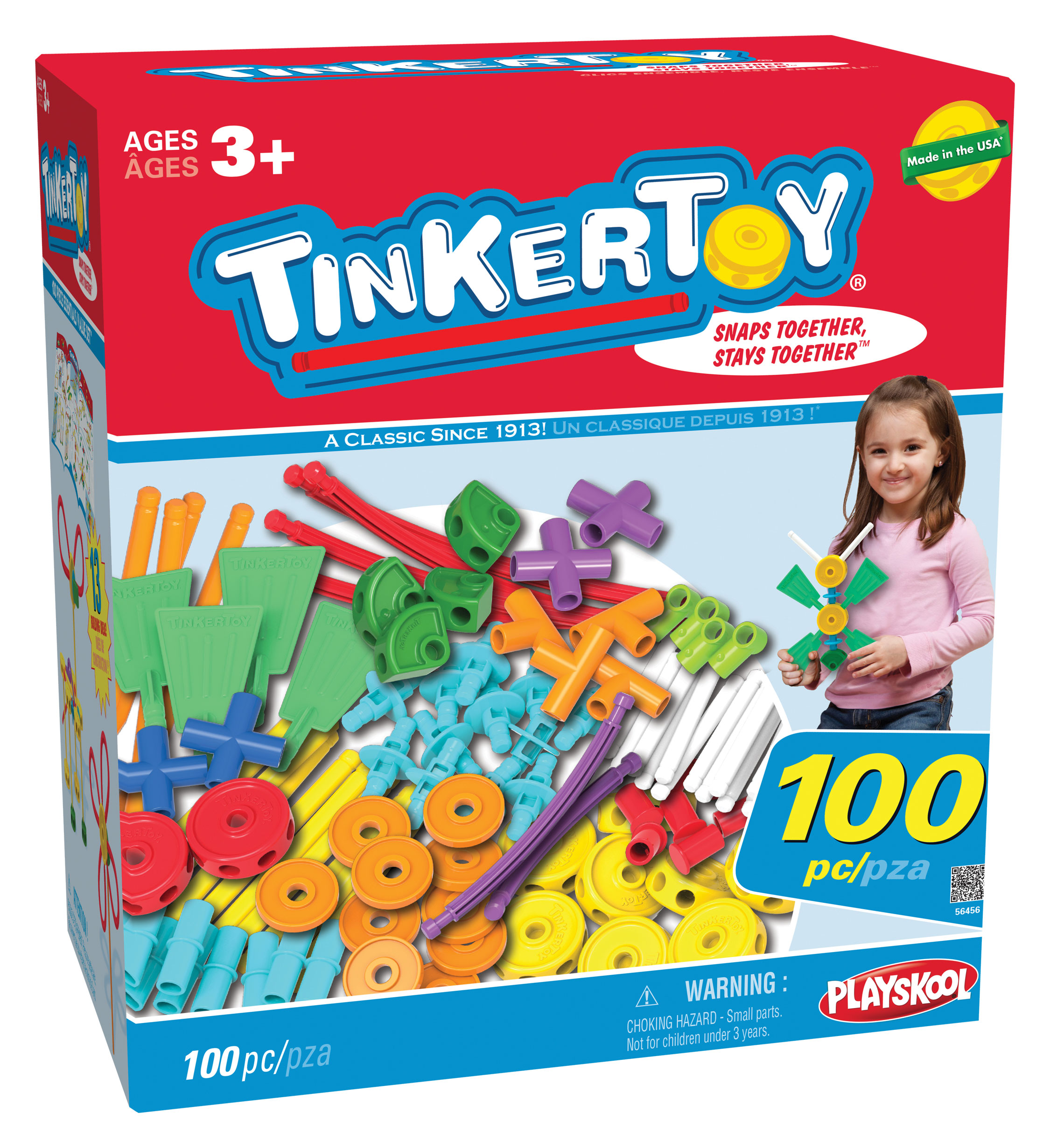 Tinkertoy 100 pc Essentials Set Review & Giveaway