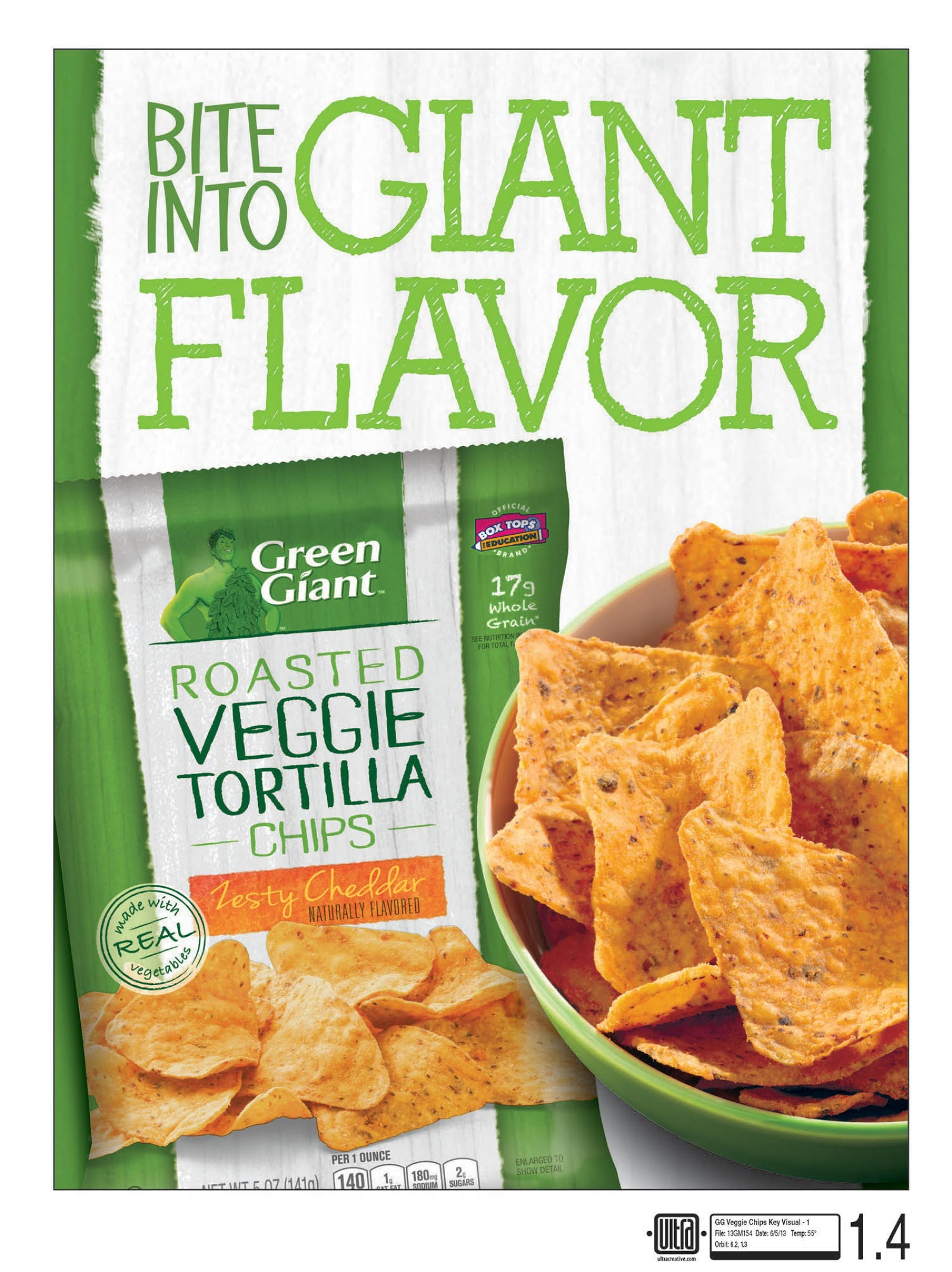 Bite Into Flavor With Green Giant's New Veggie Snack Chips