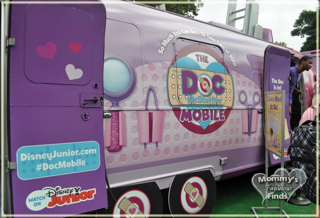 doc mcstuffins mobile tour #docmobile