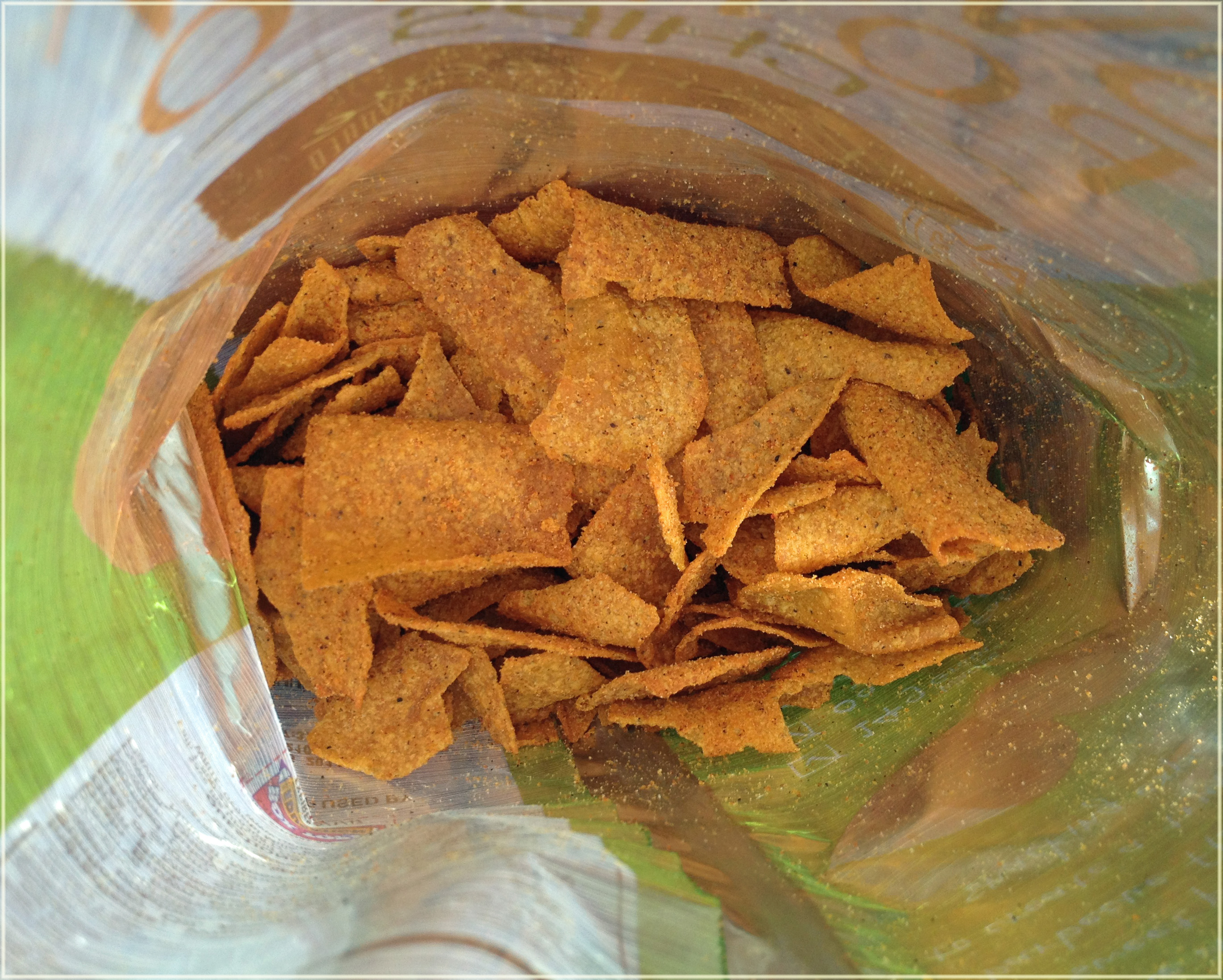 Sweet Potato Chip – Barbecue (left) Roasted Veggie Tortilla Chip ...