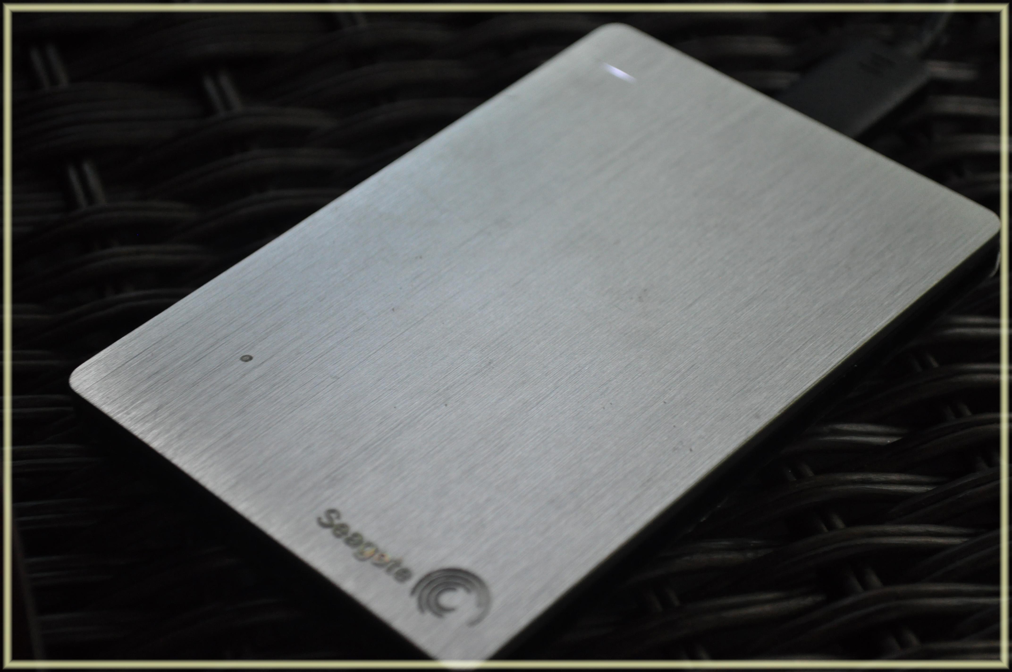 Seagate Slim Portable Drive