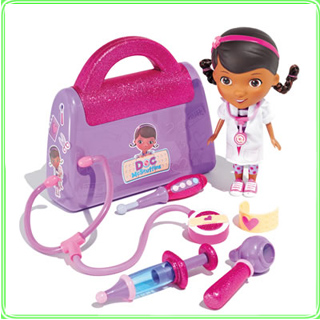 Just Play doc mcstuffins doctor bag and doll gift set