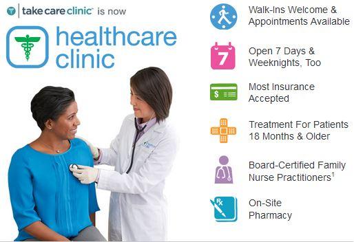 Walgreens Healthcare Clinics #HealthcareClinic #shop