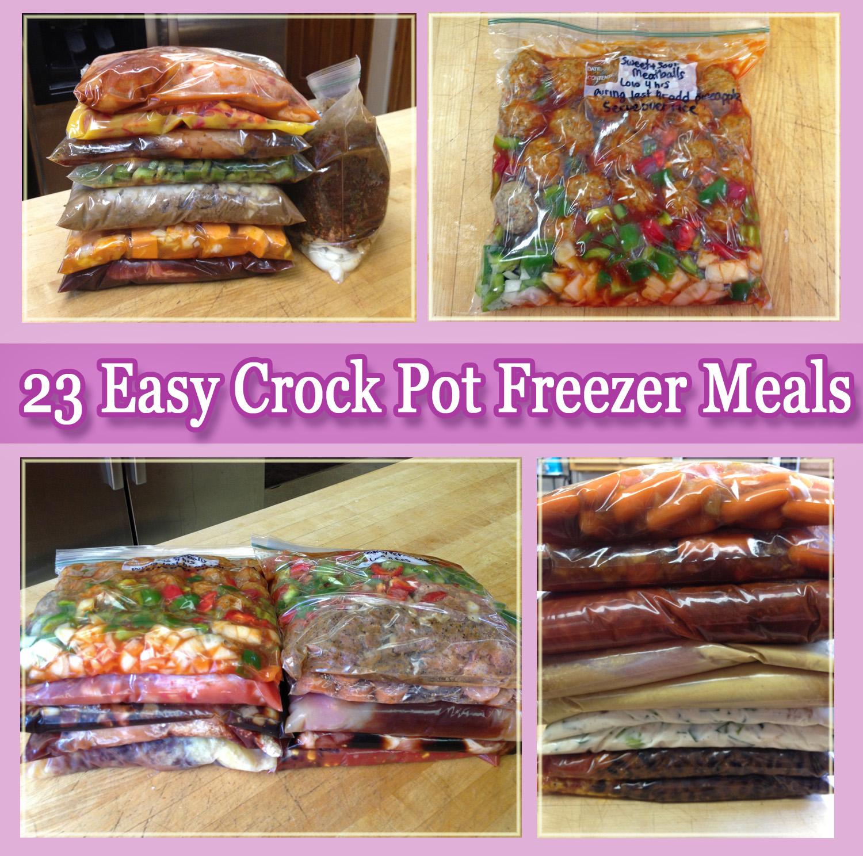 Freezer & Crock Pot Meals On Pinterest