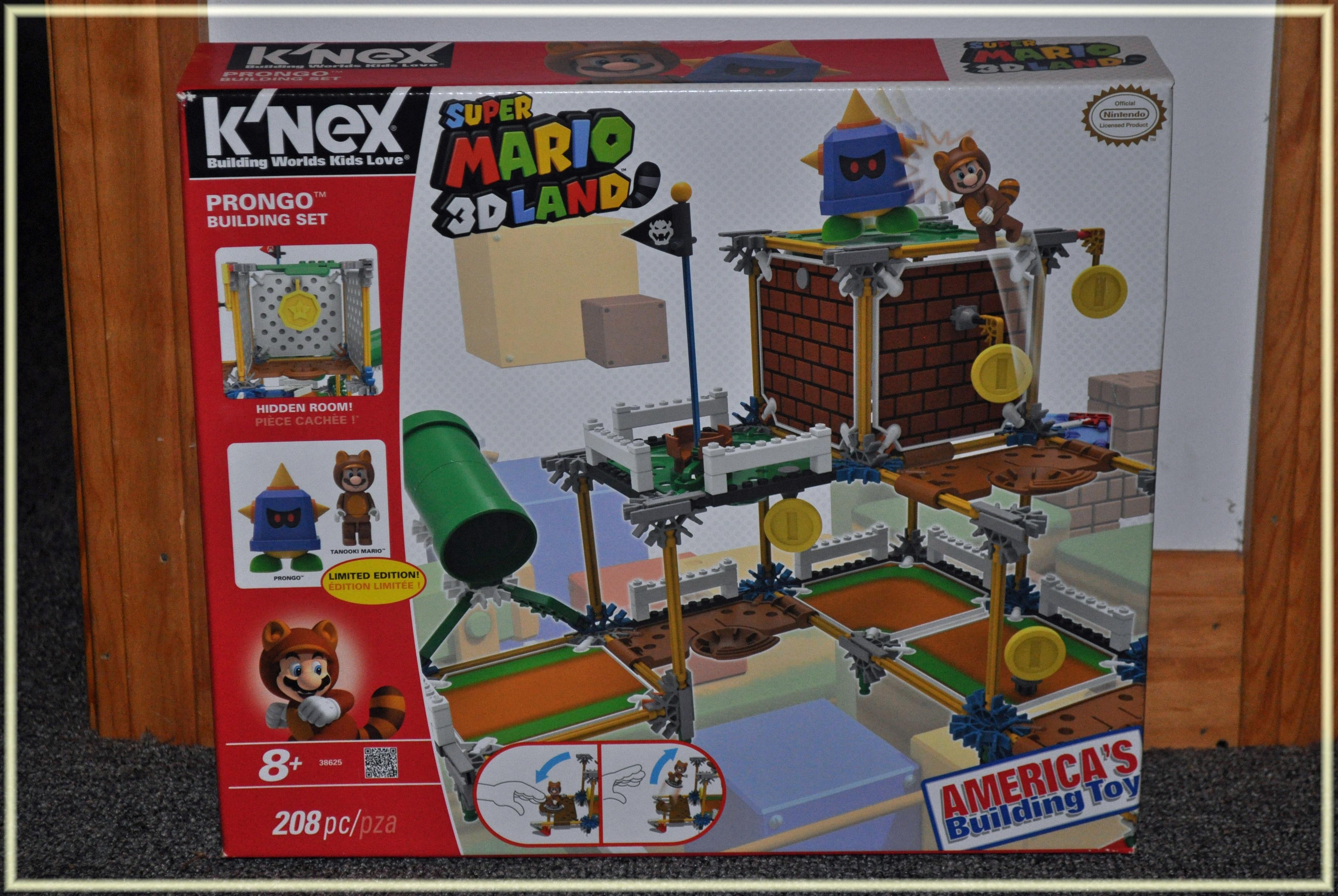 K'NEX Nintendo Super Mario 3D Land Prongo Building Set #Giveaway