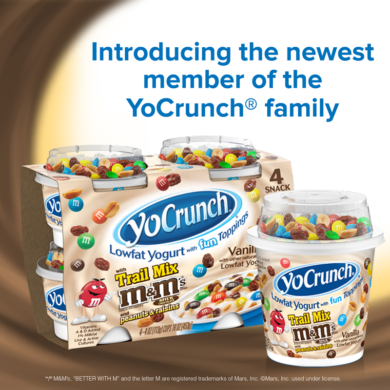 New YoCrunch Trail Mix With M&Ms #Giveaway