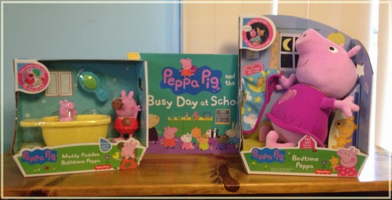 New Peppa Pig Toys