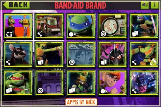 Teenage Mutant Ninja Turtle Band-Aid Magic Vision App