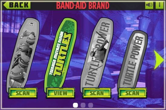 Teenage Mutant Ninja Turtles Band-Aids