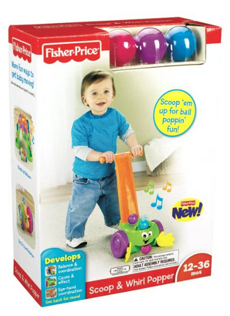 fisher price scoop and whirl popper