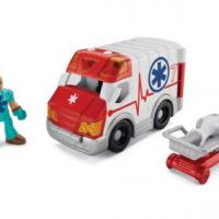 imaginext city ambulance
