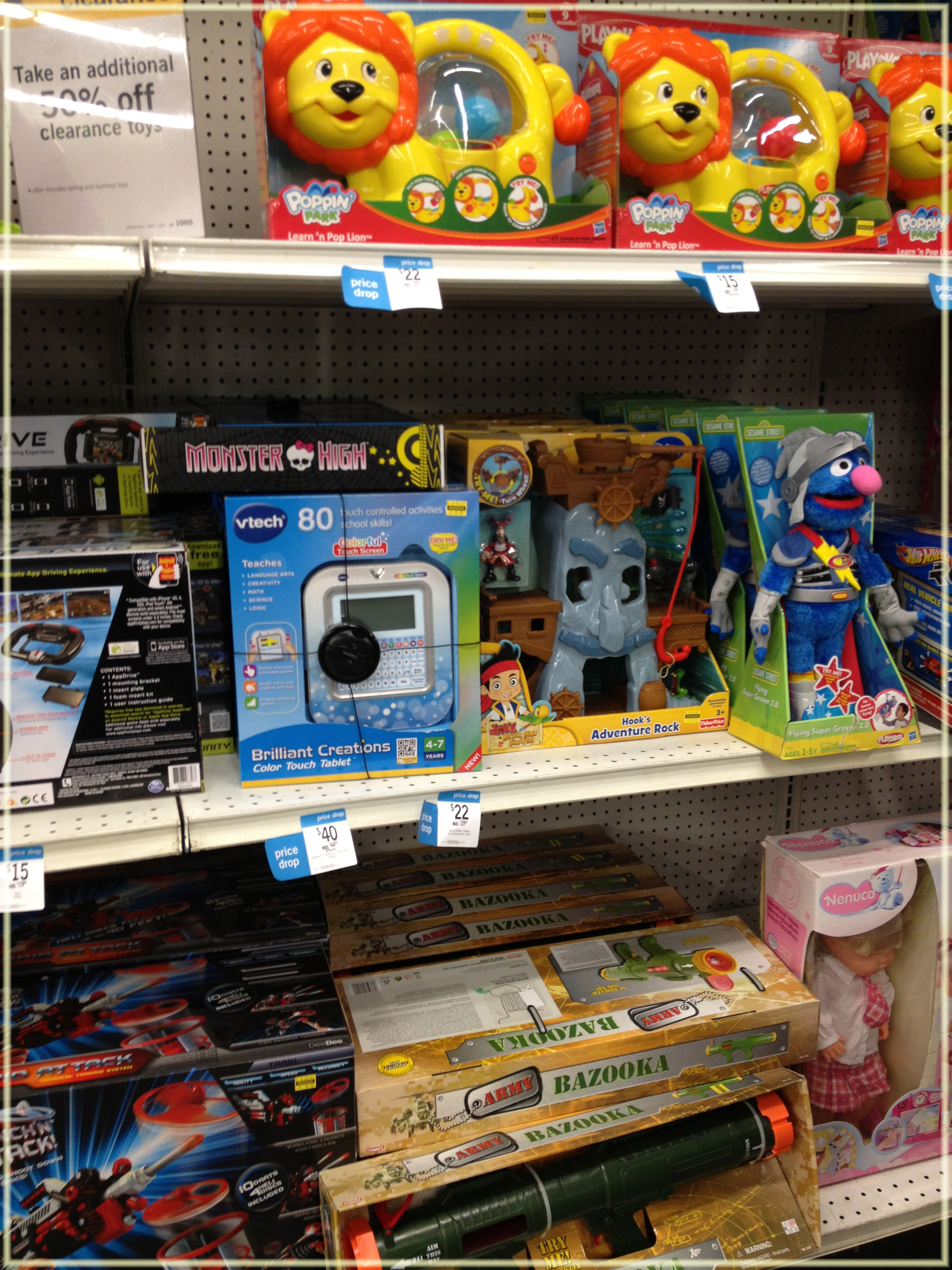 Kmart Additional 50% off Clearance Toys Great Buys