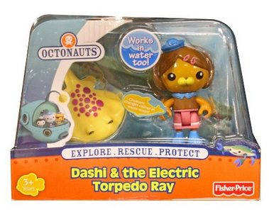 octonauts dashi and the electric torpedo ray