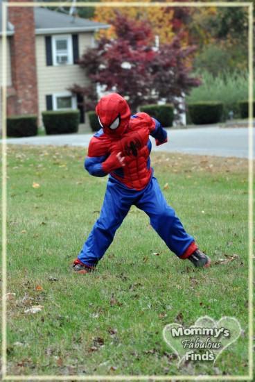 spiderman costume halloween