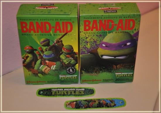 teenage mutant ninja turtle bandaid
