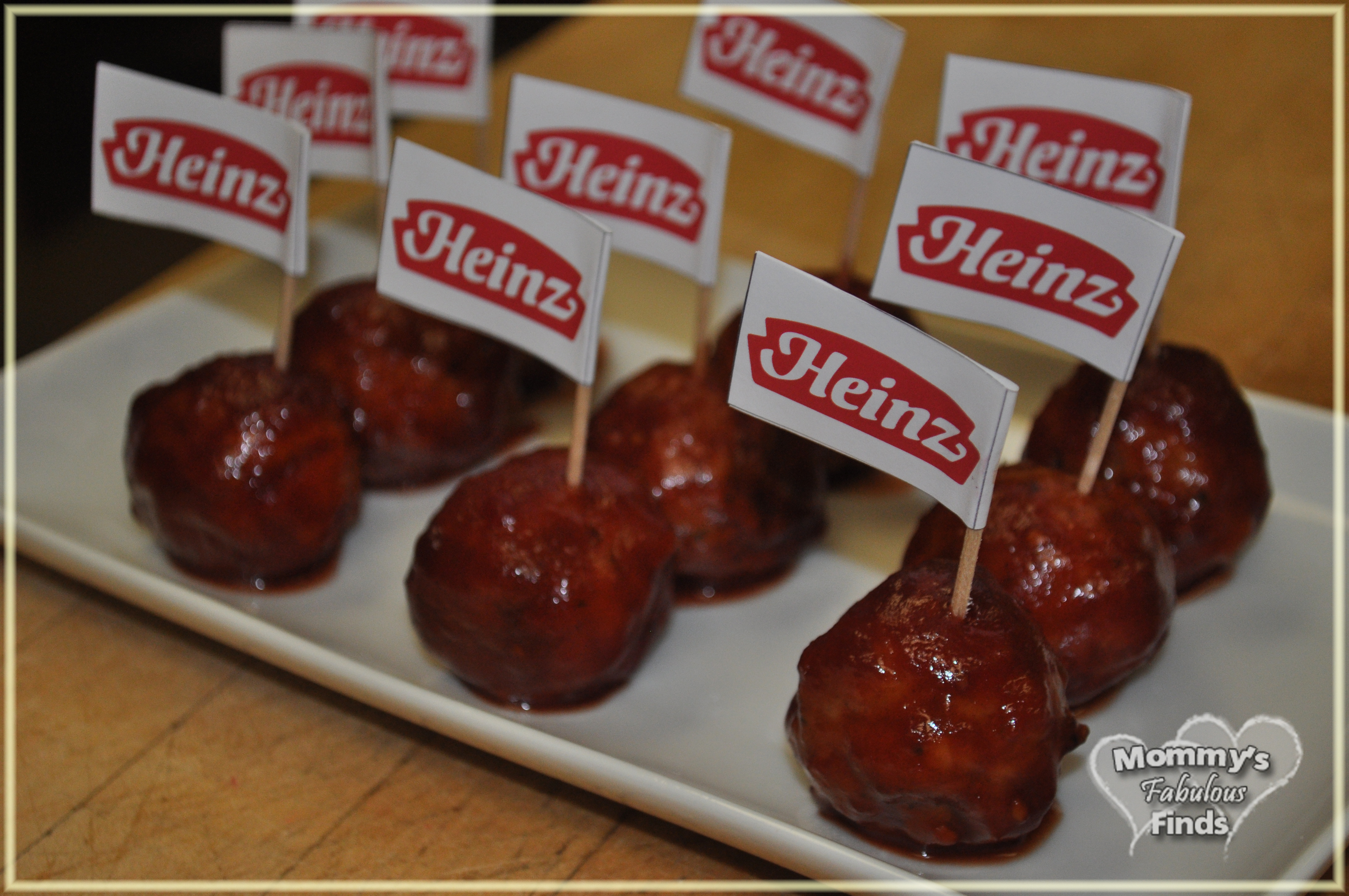 Ultimate Party Meatballs with Heinz, Johnsonville, and Ocean Spray ...