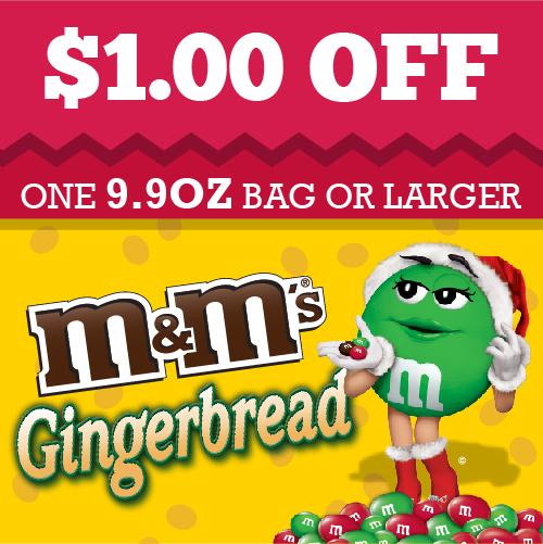 Gingerbread coupon #HolidayMM