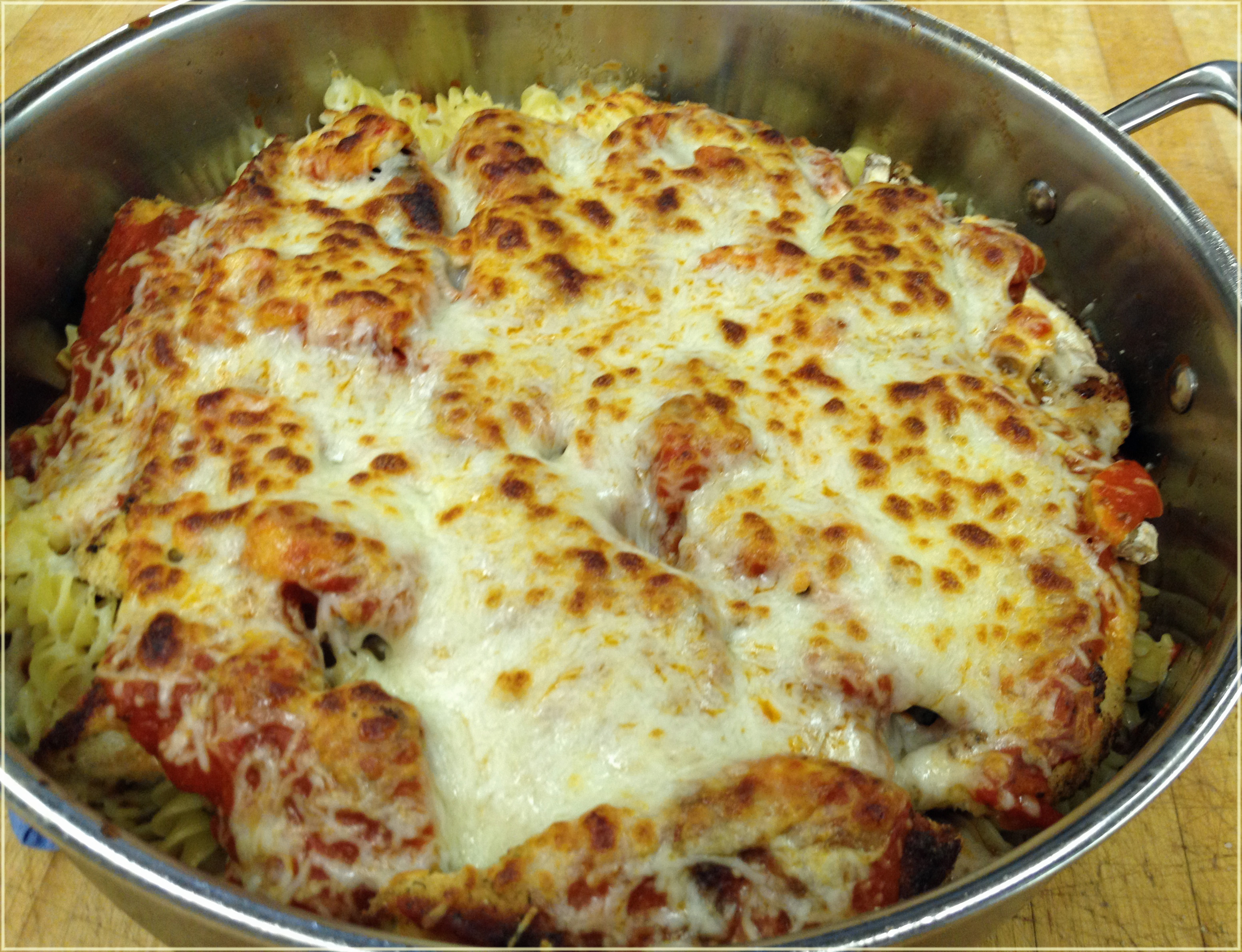 easy chicken parm recipe