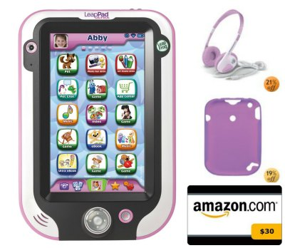 *HOT* Amazon LeapPad Ultra, Headphones, Gel Skin, AND $30 Amazon Gift Card Only $149 Shipped!