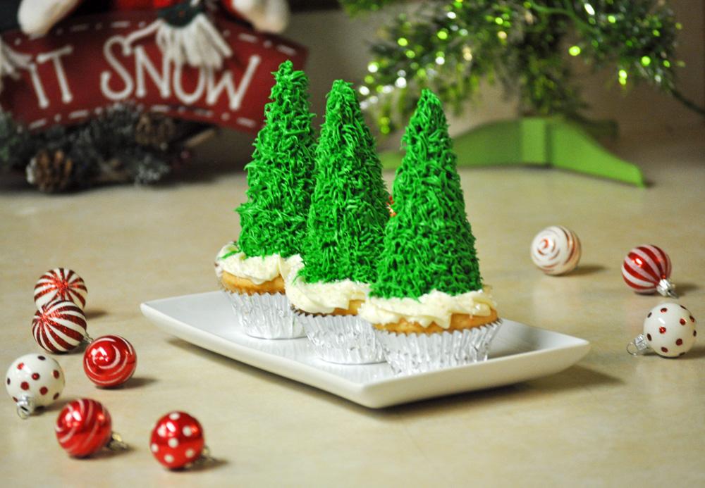 Holiday Recipes Christmas Tree Cupcakes Amp Taco Wreath