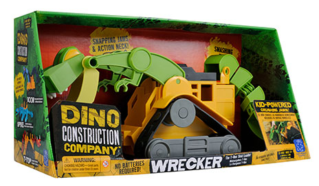 Dino Constuction Company Wreker the T-Rex Skid Loader