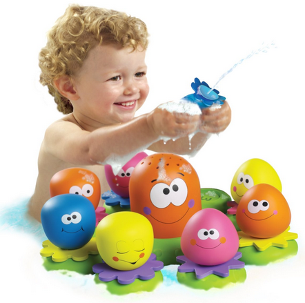 TOMY Octopal Squirters Bath Toy