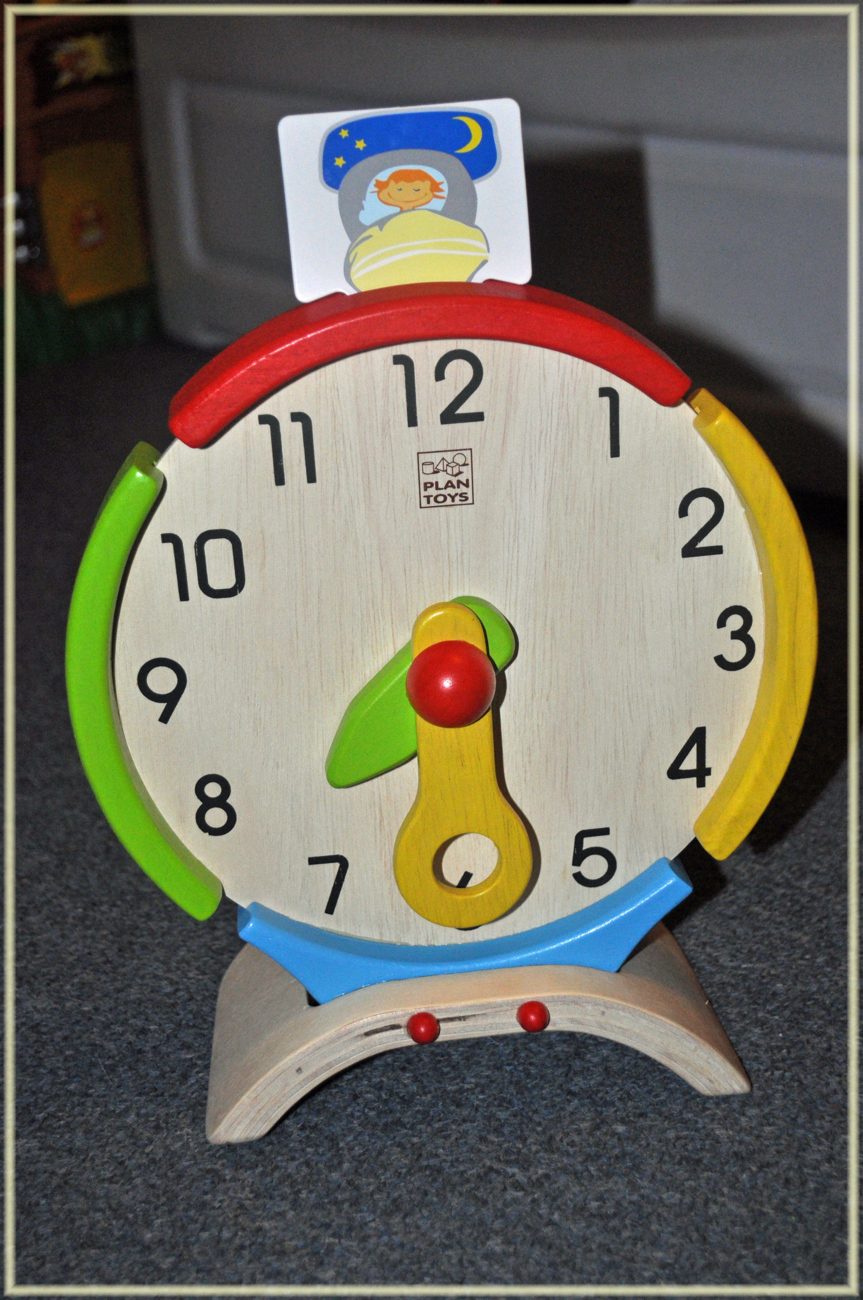 PlanToys Activity Clock & Monkey Bowling Review
