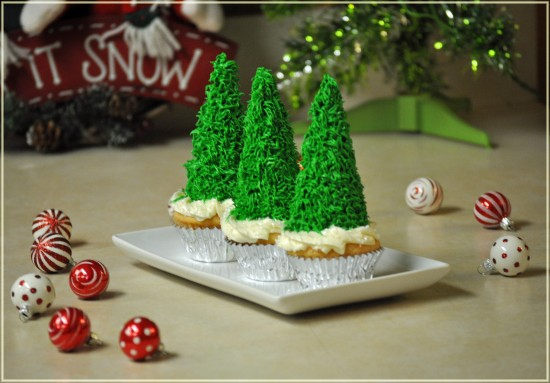 christmas tree cone cup cakes #shop
