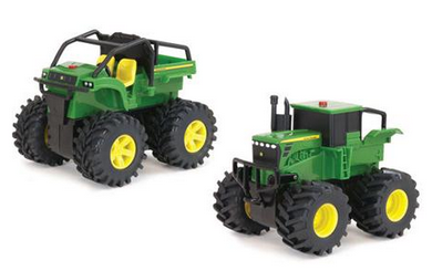 john deere monster thread wheelers