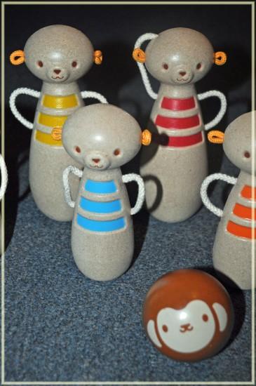 plan toys monkey bowling