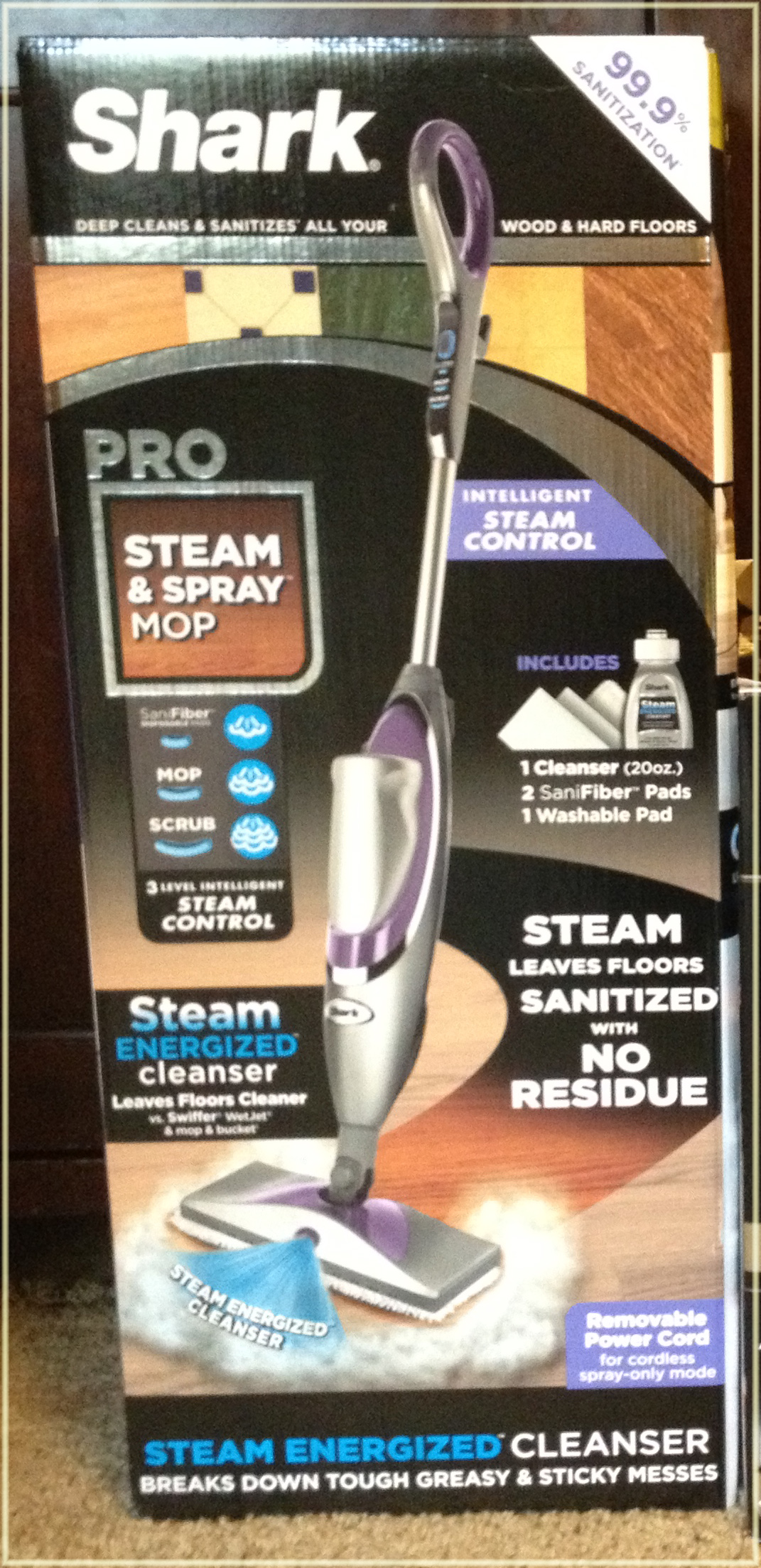 Holiday Gift Guide Shark Pro Steam Amp Spray Mommy S