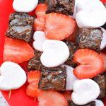 Valentine's Day Dessert Kabobs